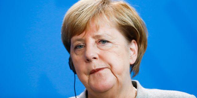 Angela Merkel. Arkivbild. FABRIZIO BENSCH / TT NYHETSBYRÅN