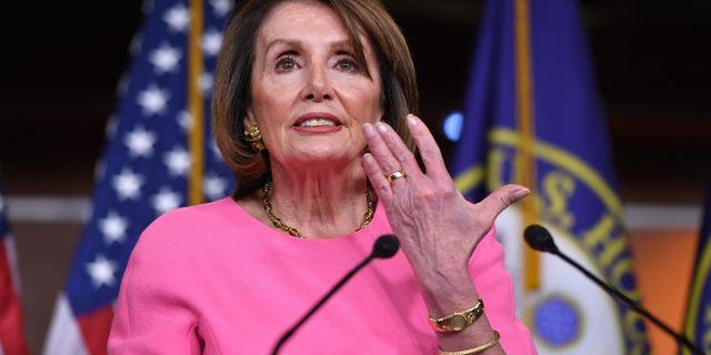 Nancy Pelosi. MANDEL NGAN / AFP