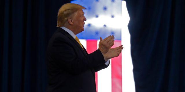 Donald Trump.  Gerald Herbert / TT NYHETSBYRÅN