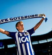 Pontus Wernbloom i IFK Göteborgströjan 2009. Adam Ihse / TT / / TT NYHETSBYRÅN