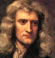 Porträtt av Newton och Galilei Från Wikipedia