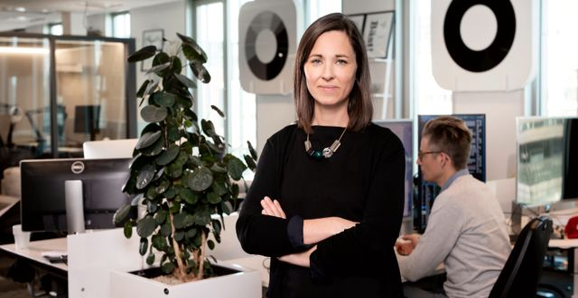Linnea Zanetti, fondförvaltare Magnus Sandberg