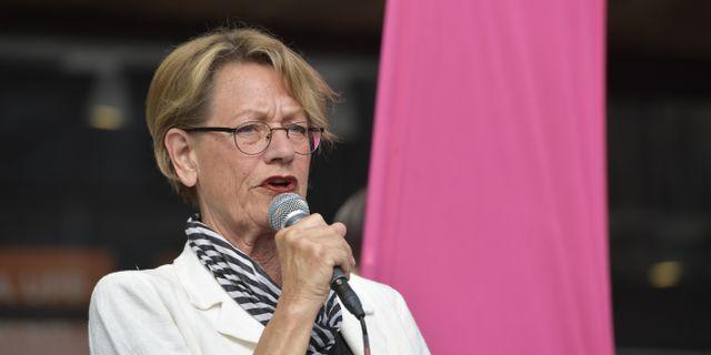 Gudrun Schyman  Jessica Gow/TT / TT NYHETSBYRÅN