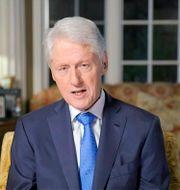Bill Clinton. Arkivbild. TT NYHETSBYRÅN