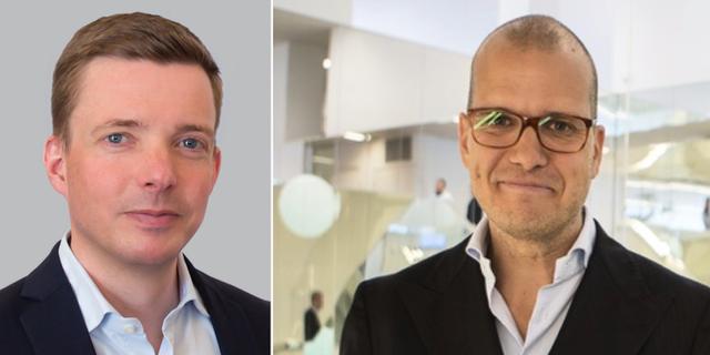 Anders Bergvall  och Joakim Bornold. Pressbild och TT.