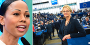 Alice Bah Kuhnke (MP) och Heléne Fritzon (S). TT