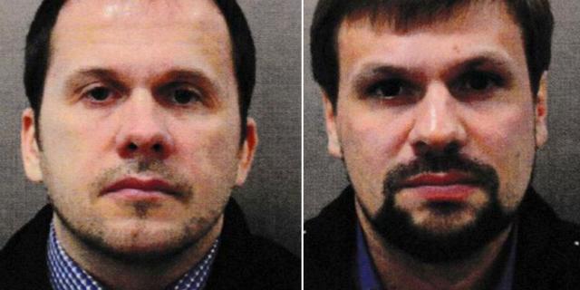 Aleksandr Petrov och Ruslan Bosjirov. HANDOUT / TT NYHETSBYRÅN