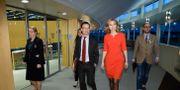 Ulf Kristersson (M) och Ebba Busch (KD). Christine Olsson/TT / TT NYHETSBYRÅN