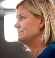 Finansminister Magdalena Andersson, S.  Jessica Gow/TT / TT NYHETSBYRÅN