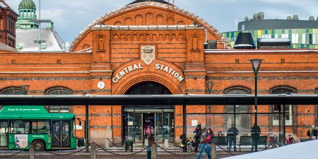 Händelsen inträffade på ett tåg mot Malmö i lördags. Arkivbild. Emil Langvad/TT / TT NYHETSBYRÅN