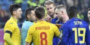 Sverige mötte Rumänien.  Jonas Ekströmer/TT / TT NYHETSBYRÅN