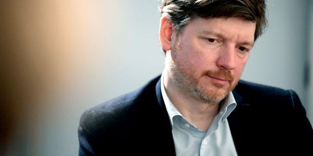 Centerpartiets chefsekonom och arbetsmarknadspolitiske talesperson Martin Ådahl har utarbetat reformförslaget. Janerik Henriksson/TT / TT NYHETSBYRÅN