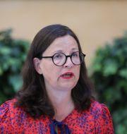 Utbildningsminister Anna Ekström (S). TT NYHETSBYRÅN