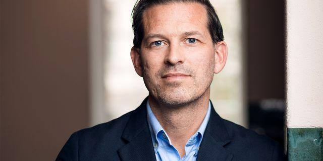 Mattias Svensson, chef Hållbar utveckling på Humlegården. Jonas Malmström