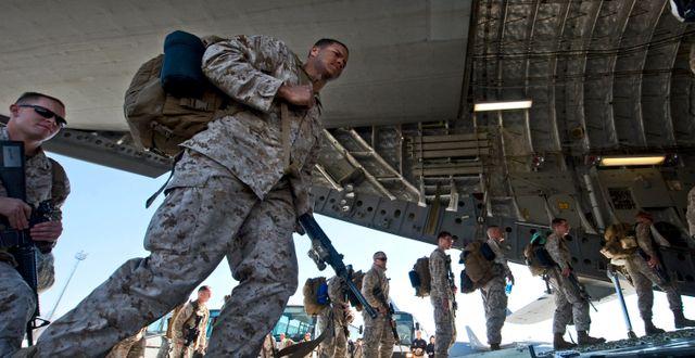 Amerikanska soldater, arkivbild. Vladimir Voronin / TT NYHETSBYRÅN