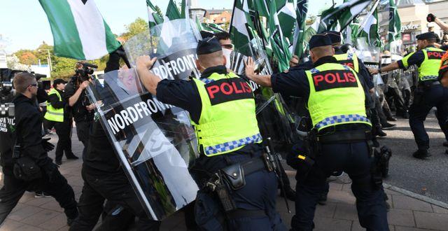 Arkivbild från demonstrationen Fredrik Sandberg/TT / TT NYHETSBYRÅN