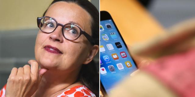 Anna Ekström (S), utbildningsminister. TT