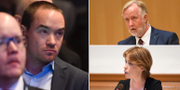 Kent Ekeroth, Johan Pehrson, Annika Strandhäll.  TT