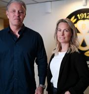 Gunnar Ekman och Jennie Brobeck  Brynäs IF