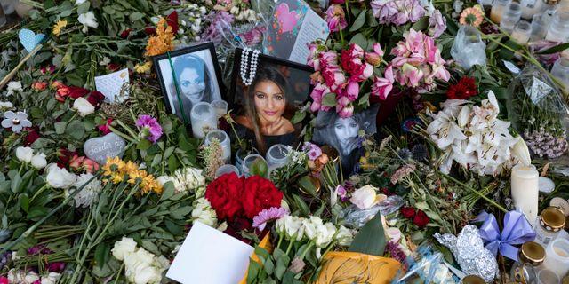 Minnesplats för Karolin Hakim efter mordet Johan Nilsson/TT / TT NYHETSBYRÅN
