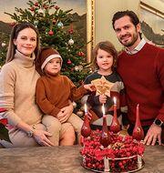 Prinsfamiljen önskar en glad tredje advent. Victor Ericsson/Kungl. Hovstaterna