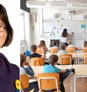 Karin Pleijel/klassrum. TT