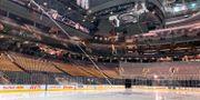 Scotiabank Arena där Toronto Maple Leafs den 12 mars när beskedet kom om att NHL pausas. Joshua Clipperton / TT NYHETSBYRÅN