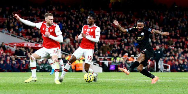 Arsenal och Manchester City möts den 17 juni när Premier League drar igång igen. HANNAH MCKAY / BILDBYRÅN