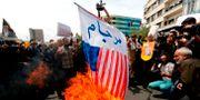 Arkivbild: Protester mot USA i Iran.  STR / AFP