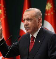 Turkiets president Recep Tayyip Erdogan, TT NYHETSBYRÅN