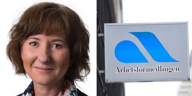 Maria Kindahl. Lina Siksjö, Arbetsförmedlingen / TT.