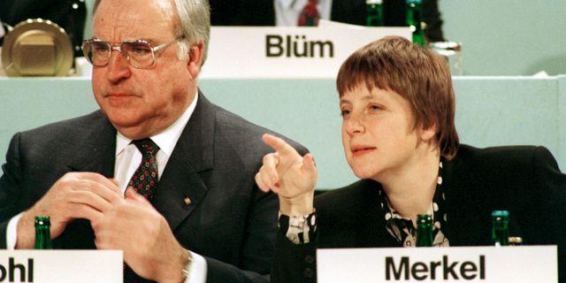 Kohl lugnar tyskarna