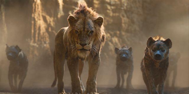 Scar i en scen ur nya Lejonkungen.  Disney / TT NYHETSBYRÅN/ NTB Scanpix