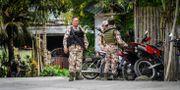Militär i södra Filippinerna.  FERDINANDH CABRERA / AFP