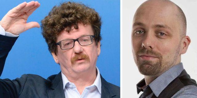 Lars Stjernkvist och Nicklas Hammarström. TT och Vänsterpartiet