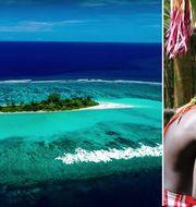 Mavara Islet är en av öarna som utgör Bougainville, där invånarna nyss har röstat för självständighet. Youtube/Jeremy Miller TT Nyhetsbyrån