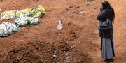 Begravning i Sao Paolo. Andre Penner / TT NYHETSBYRÅN