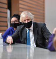 Boris Johnson.  Anthony Devlin / TT NYHETSBYRÅN