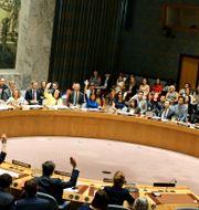 FN:s säkerhetsråd. John Alexander Sahlin/TT / TT NYHETSBYRÅN