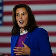 Donald Trump/Gretchen Whitmer. TT