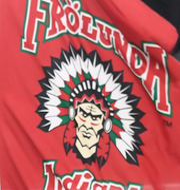 NFL-laget Washington/Frölunda Indians. TT