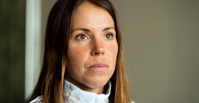 Charlotte Kalla. Erik Mårtensson/TT / TT NYHETSBYRÅN
