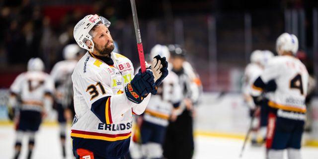 Dick Axelsson efter matchen. PETER HOLGERSSON / BILDBYRÅN