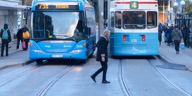 Busskorten blir dyrare för göteborgare.  FREDRIK SANDBERG / TT / TT NYHETSBYRÅN