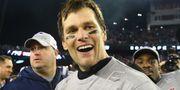 Tom Brady efter segern i semifinalen mot Jacksonville. Arkivbild. Maddie Meyer / GETTY IMAGES NORTH AMERICA