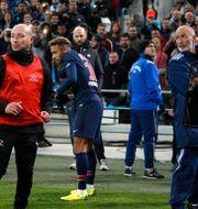 Neymar under matchen.  Claude Paris / TT NYHETSBYRÅN/ NTB Scanpix