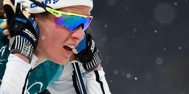 Anna Dyvik.  JONATHAN NACKSTRAND / AFP