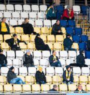 Bild från matchen.  KRISTER ANDERSSON / BILDBYRÅN