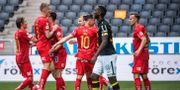Henok Goitom efter Norrköping gjort 0–2. JOHANNA LUNDBERG / BILDBYRÅN