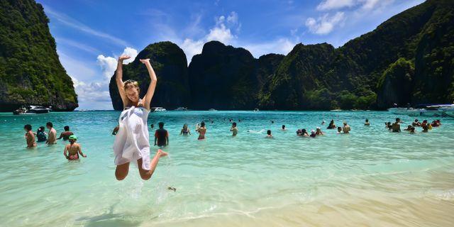 Maya Bay. Shan Ambrose/Wikicommons